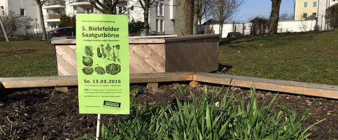 Für alle GärtnerInnen im Quartier: 5. Bielefelder Saatgutbörse am 13. März