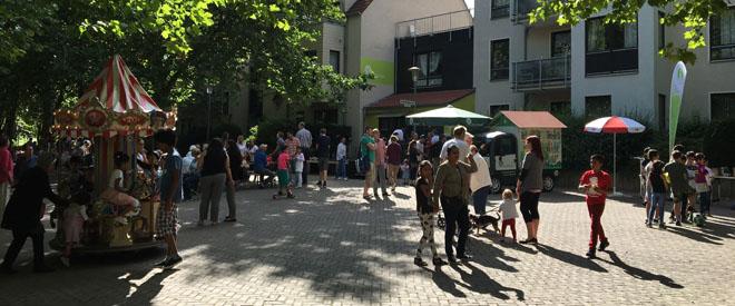 Bilder vom Stadtteilfest am 3. September 2016