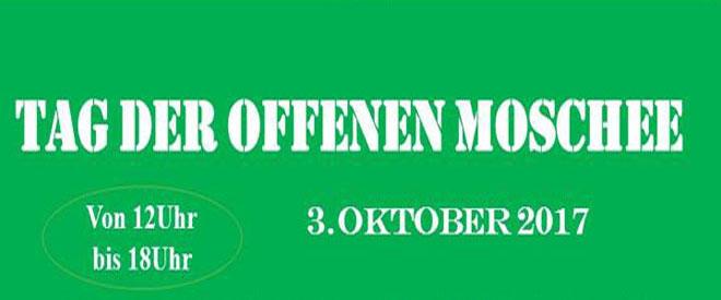 3. Oktober – Tag der offenen Moschee