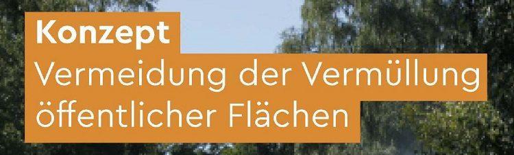 Stadt Bielefeld – Konzept zur Vermeidung der Vermüllung öffentlicher Flächen